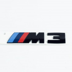 BMW F80 M3  Emblem M3  NEU  Competition Paket  rear sticker M3 new  5114 8068580
