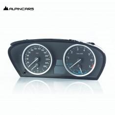 BMW X6 Hybrid E72 Instrumentenkombi I- Kombi Cluster benzin 7000 U/min 172784 km