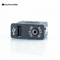 BMW E60 E63 E70 E81 E87 E89 E90 F01 F06 F11 F25 Buchse USB/AUX-IN socket