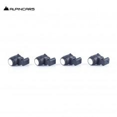 4x BMW E81 E82 E87 E88 E90 E92  Ultraschallsensor Alpinweiss/ PDC sensor 6935598
