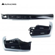 BMW F15 F16  Original Blende I-Tafel amerik. Eiche / Trim ins. Amer.oak  9284856