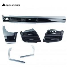 BMW F15 F16 Osłona deski rozdz. alu, heksagon