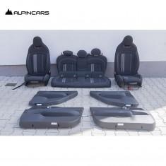 BMW F55 JCW Works tapicerka fotele środek
