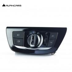 BMW F15 X5 F16 F45 F46 Bedieneinheit Licht Light control panel swich LED 6824888