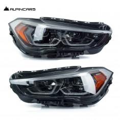 BMW F48 LCI F49 LIFT X1 Led Scheinwerfer headlights ECE LHD LL complete pair  N2