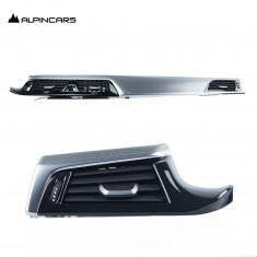 BMW G30 G31 G38  alum.Rhombicle pearl Dekorleistnen Satz Dashboard trims 8070406