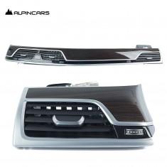 BMW 7er G11 G12 Blenden I-Tafel Fineline Braun dash trims Fineline Braun 6992251