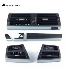 BMW  E70 X5 3.0sd E71 X6 50iX X6 30dX N57  Blende I-Tafel Carbon Pearlglanz Trim