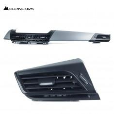 BMW 2er F45 F45 216i 225xe Blenden I-Tafel Oxidsilber Dashboard Trims  9317382