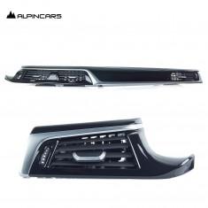 BMW 5er G30 G31 G38 F90  Dekorleistnen Satz Piano black Dashboard trims  9390699