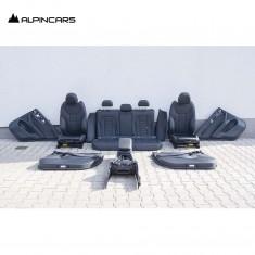 BMW F97 X3M G01 Innenausstatung Leder Sitze leather Seats Interior Vernasca LA56