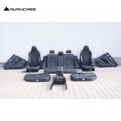 BMW F97 X3M G01 tapicerka fotele środek skóra M