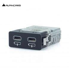 BMW F39 F48 F49 G01 G02 G07 G11 G12 G20 Podwójne gniazdo USB