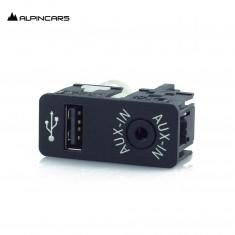 BMW F20 F21 F22 F30 F45 F87 gniazdo USB/AUX-IN 9229246