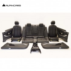 BMW F30 tapicerka fotele środek skóra