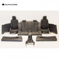 BMW F87 M2 COMPETITION Innenausstatung Leder Sitze Seats Interior Leather 3078km