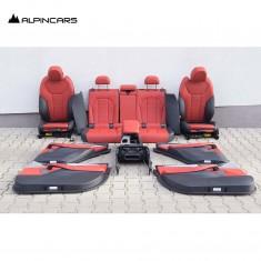 BMW G01 X3  Innenausstatung Leder Sitze leather Seats Interior Vernasca  LA46784