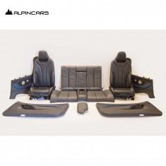 BMW F32 tapicerka fotele środek skóra