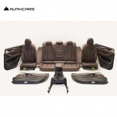 BMW  G01 X3 tapicerka fotele środek skóra M
