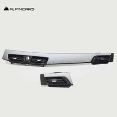 BMW X' X2 F39 X1 48  Original Blende I-Tafel oxidsilber Dashboard Trims  9292159