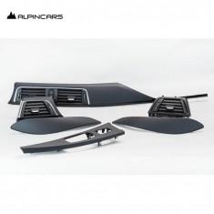 BMW 3r F30 F32 F80 4er F82 Blenden I-Tafel Pianoblack Pearlglanz Dashboard Trims