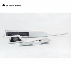 BMW F30 F31 F32 F34 F35 F36 Blenden I-Tafel Satin Silber Dashboard Trims 9231206