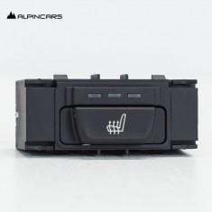 BMW 5er F10 F11 Schalter Sitzheizung links hinten/ Switch, seat heating  9163292