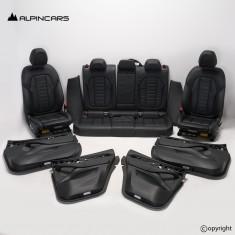 BMW G02 X4 tapicerka fotele środek skóra mocca