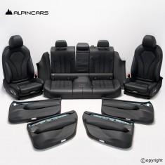 BMW F90 M5 G30 M Innenausstatung Sitze Seats Interior Leder silverstone  G965253