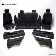 BMW F87 M2 COMPETITION Innenausstatung Leder Sitze Seats Interior Leather VB0837