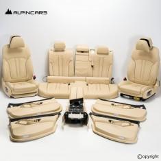 BMW G31 tapicerka fotele środek komfort mocca