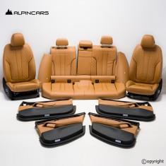 BMW G31 Innenausstatung Komfort Sitze Seats Interior Leather canberrabeige G6203