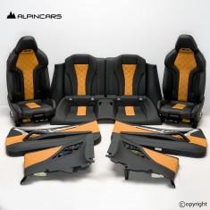 BMW F91 M8 G14 tapicerka fotele środek Midrand beige