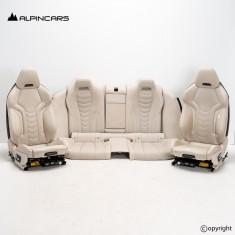 BMW G16 Gran Coupe Innenausstatung Leder Sitze Seats Interior Leather Individual
