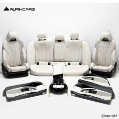 BMW F90 M5 G30 M Sitze Innenausstatung Leder seats Interior merino black  5664km