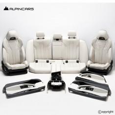 BMW F90 M5 G30 tapicerka fotele merino 5664km