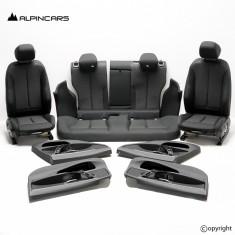 BMW F36 GC tapicerka fotel środek skóra Individual