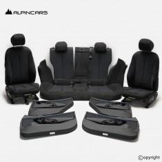 BMW F36 Gran Coupe Innenausstatung Leder Sport Sitze Seats Interior Move anthraz