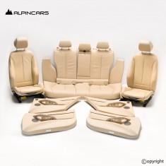 BMW F31 Innenausstatung Leder Sitze Seats Interior set leather Veneto beige LCDF