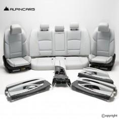 BMW 3er F30 LCI Innenausstatung Leder Sitze schwarz Seats Interior set black USA