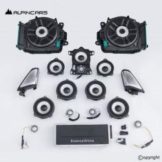 BMW G11 G12 7er BW Bowers Wilkins Lautsprecher Satz amp audio speaker set  S6F1A