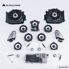 BMW G11 G12 BW Bowers Wilkins Lautsprecher Satz amplifier audio speaker set S6F1