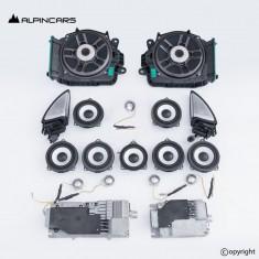 BMW 7 G11 G12 Bowers Wilkins Lautsprecher Satz amp audio speaker set MGU id7 RAM