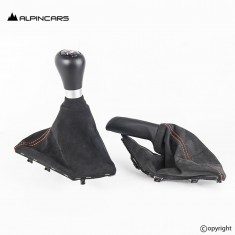 BMW F87 M2 Schaltknauf Schaltknopf Gear shifter  alcantara LHD 8075931 8075933