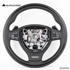 BMW F15 X5 25d F16 X6 Original individual Lenkrad Steering wheel heating paddles