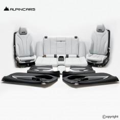BMW F83 M4 F33 M Innenausstatung Leder Sitze Seats Interior set leather  5P59041