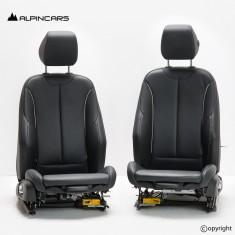 BMW F20 F30 F31 F34 F36 Sport Sitze vorne front seats Interior alcantara hexagon