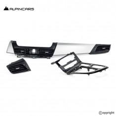 BMW 2er F45 F46 Orig. Blenden I-Tafel Satin Silber Piano Schwarz Dashboard Trims