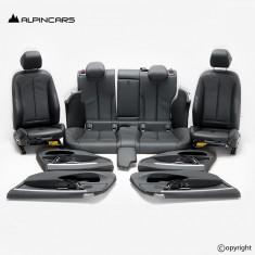 BMW 4 F36 Gran Coupe Innenausstatung Sport Sitze Seats Interior hexagon antrazit