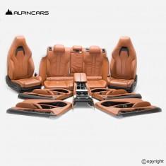 BMW F86 X6M tapicerka INDIVID fotele środek AMARO